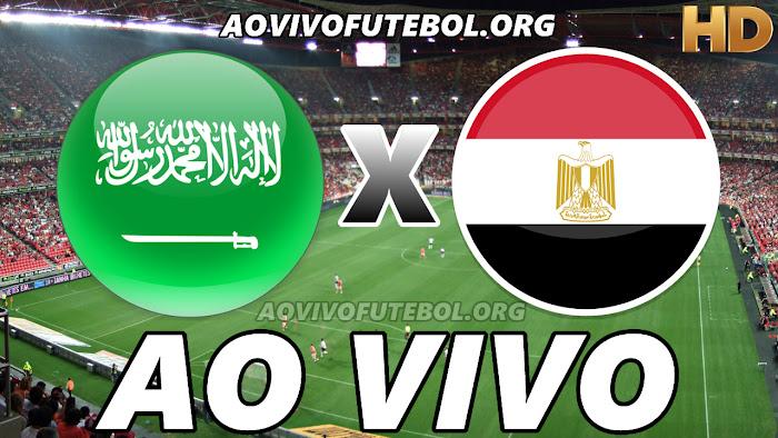 Ver Arábia Saudita x Egito Ao Vivo