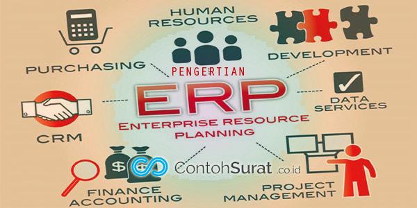Pengertian ERP