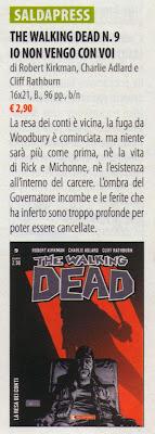 The Walking Dead #9 (versione da edicola)