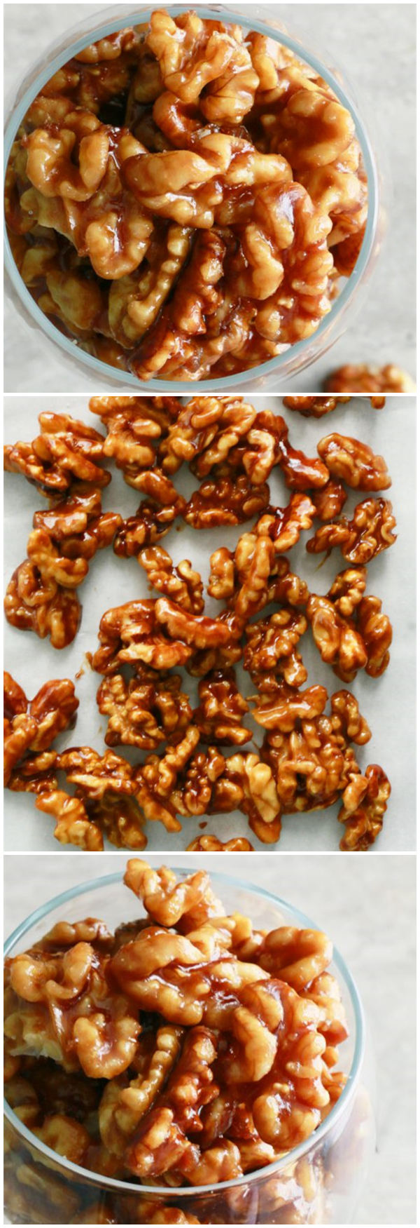 5 Minute Caramel Walnuts