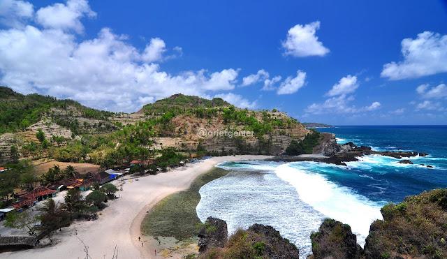 pantai di jogja yang paling bagus indah keren dan menarik