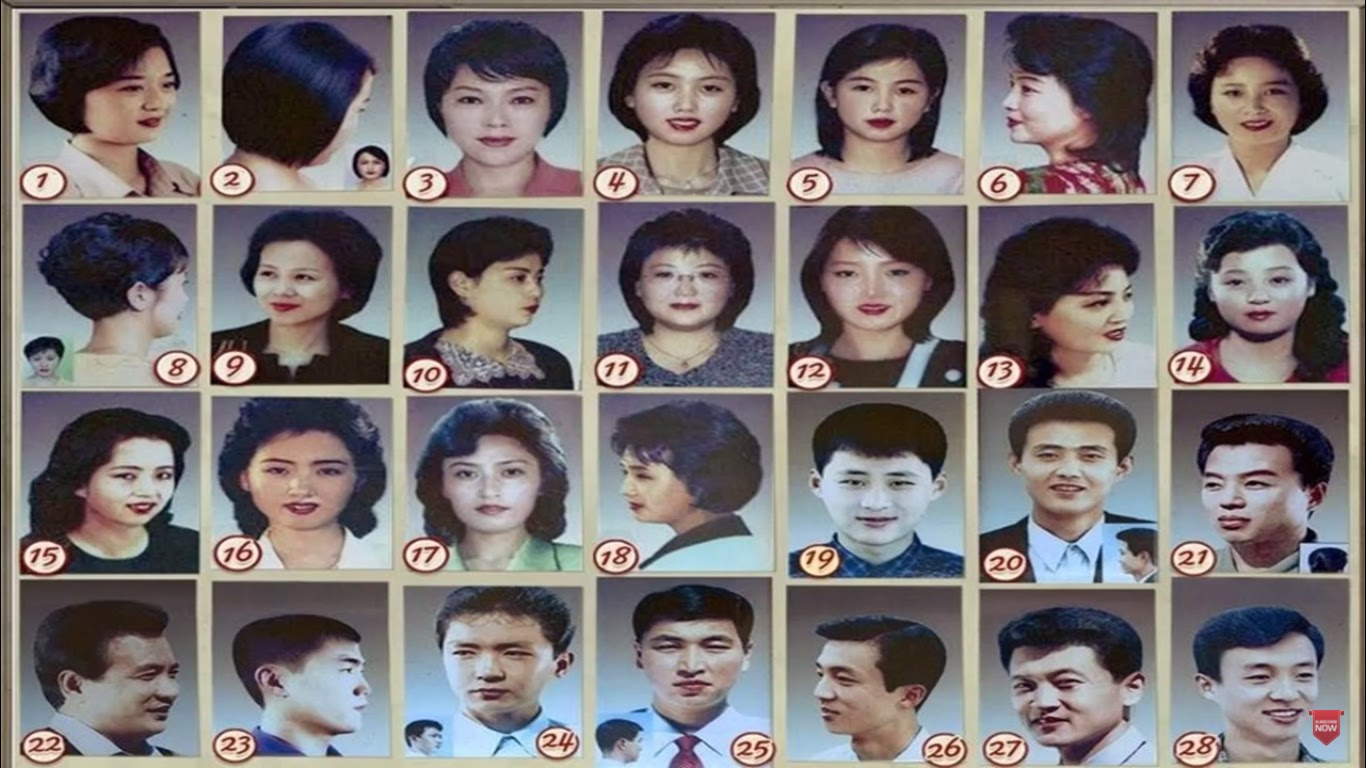 Approved Haircuts In North Korea