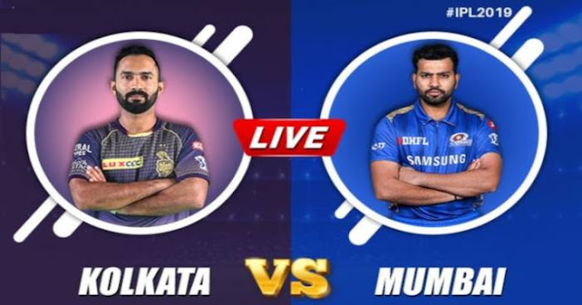 VIVO IPL 2019 Match 47 KKR vs MI Live Score and Full Scorecard