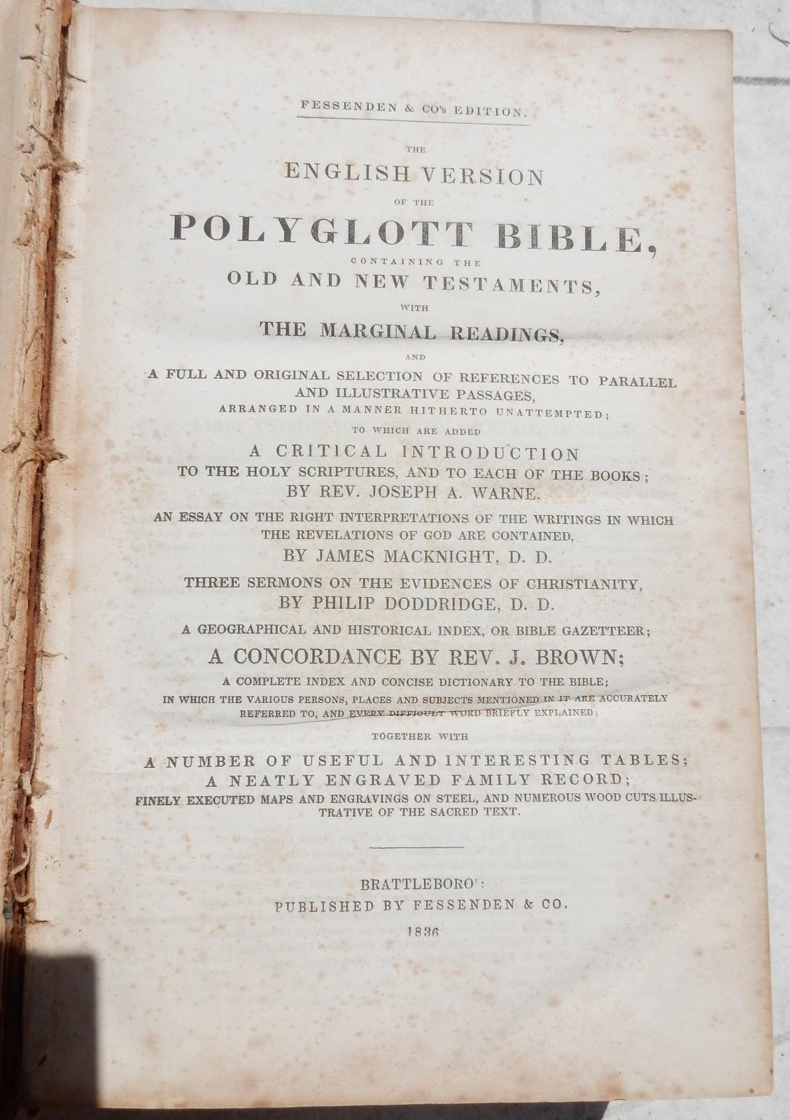 heirlooms reunited bible of seth holway u0026 thankful c smith