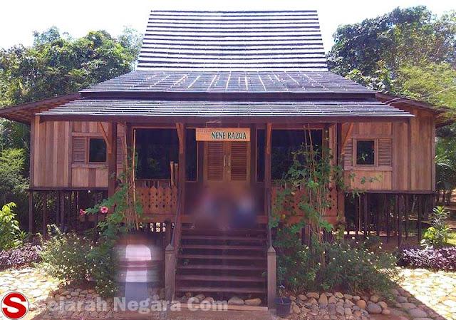 Gambar Rumah adat suku Banjar Kalimantan Selatan