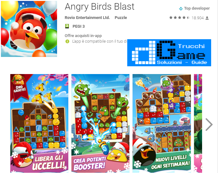 Soluzioni Angry Birds Blast livello 171 172 173 174 175 176 177 178 179 180 | Trucchi e  Walkthrough level