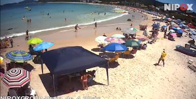 câmera ao vivo da praia de 4 ilhas
