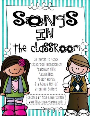https://www.teacherspayteachers.com/Product/Songs-in-the-Classroom-316913