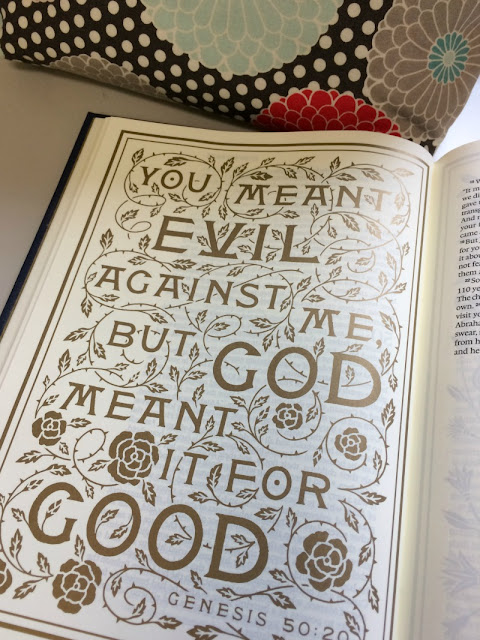 If you feel like you do not know where to start with being creative, maybe you would be comfortable with a Bible that contains illustrations.