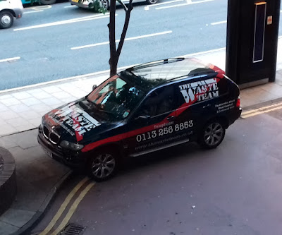 The Waste Team 'van' in Leeds