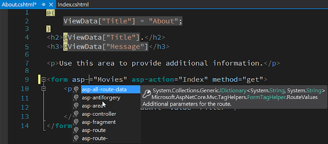 edit asp- intellisense