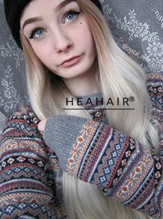 ombre ash blonde wig
