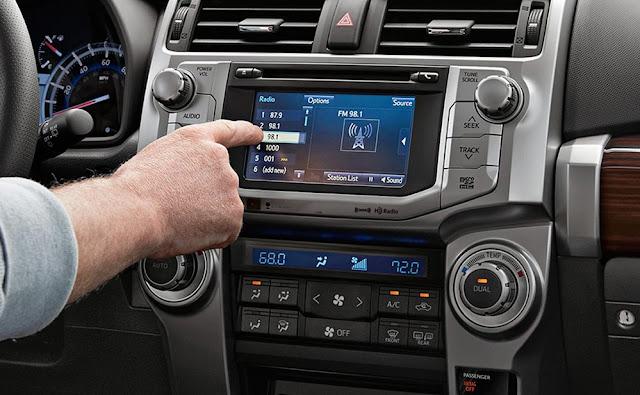 2017 Toyota 4runner Interior Concept