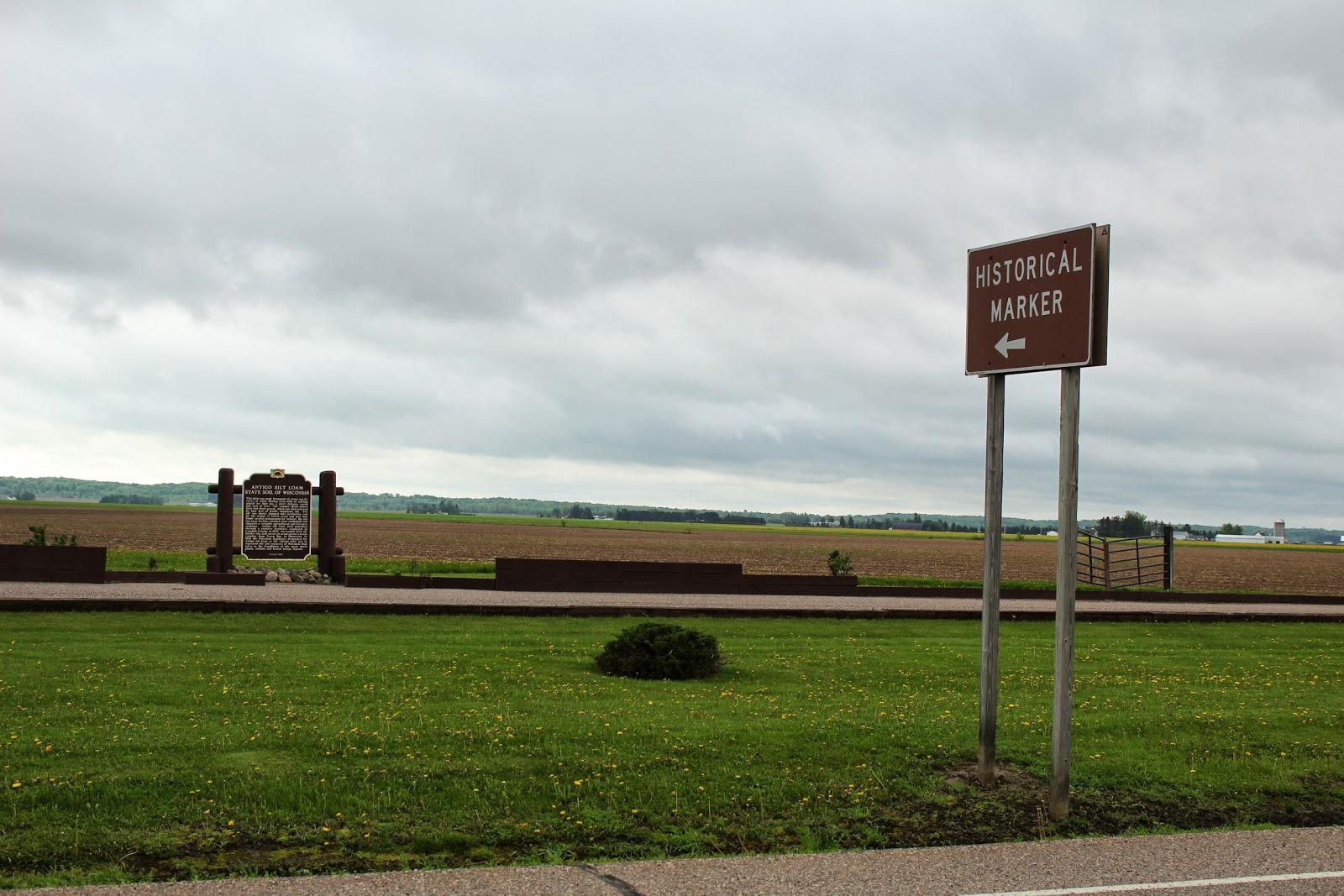 Wisconsin Historical Markers Marker 280 Antigo Silt Loam