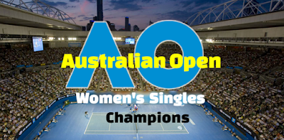 Australian Open Women's Singles, grand slam tournament,  Champions-Winners List, year wise.