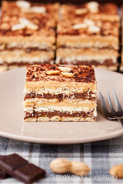 Ciasto orzechowo-czekoladowe bez pieczenia