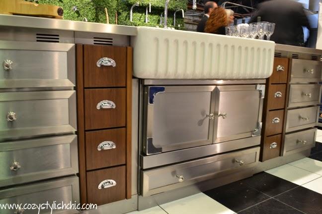 La Cornue cabinetry