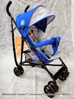 Kereta Bayi Disney DB306 Mickey & Friends Buggy - Blue