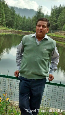 Enjoying at Tanu Jabbar Lake, Narkanda