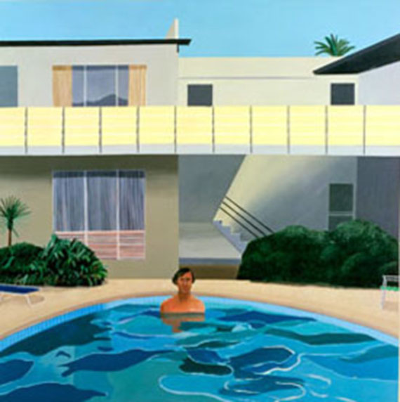 "David Hockney: ""Autorretrato"", 1966, pools addiction"