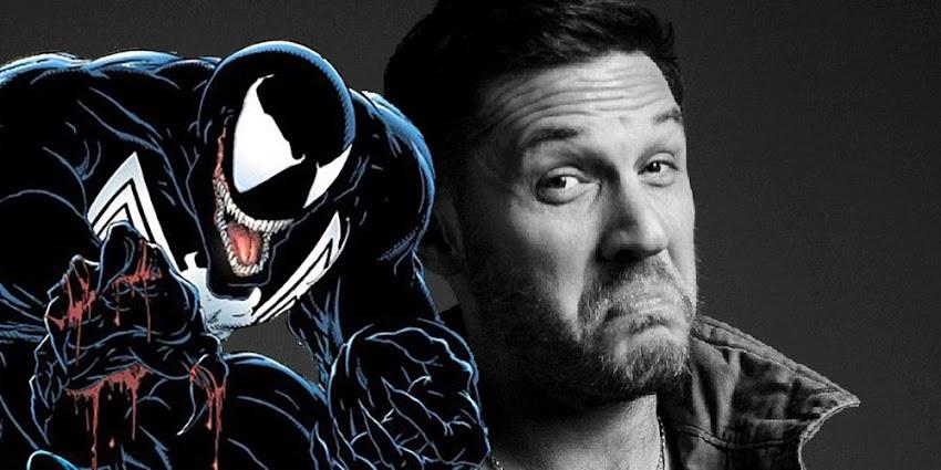 """Tom Hardy - Ecco Una Nuova Foto Dal Set Del Film """" Venom """""""