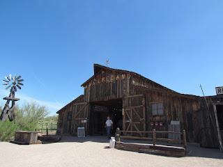 Apacheland barn