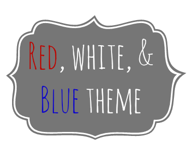 USA (red, white and blue) themed activities and printables