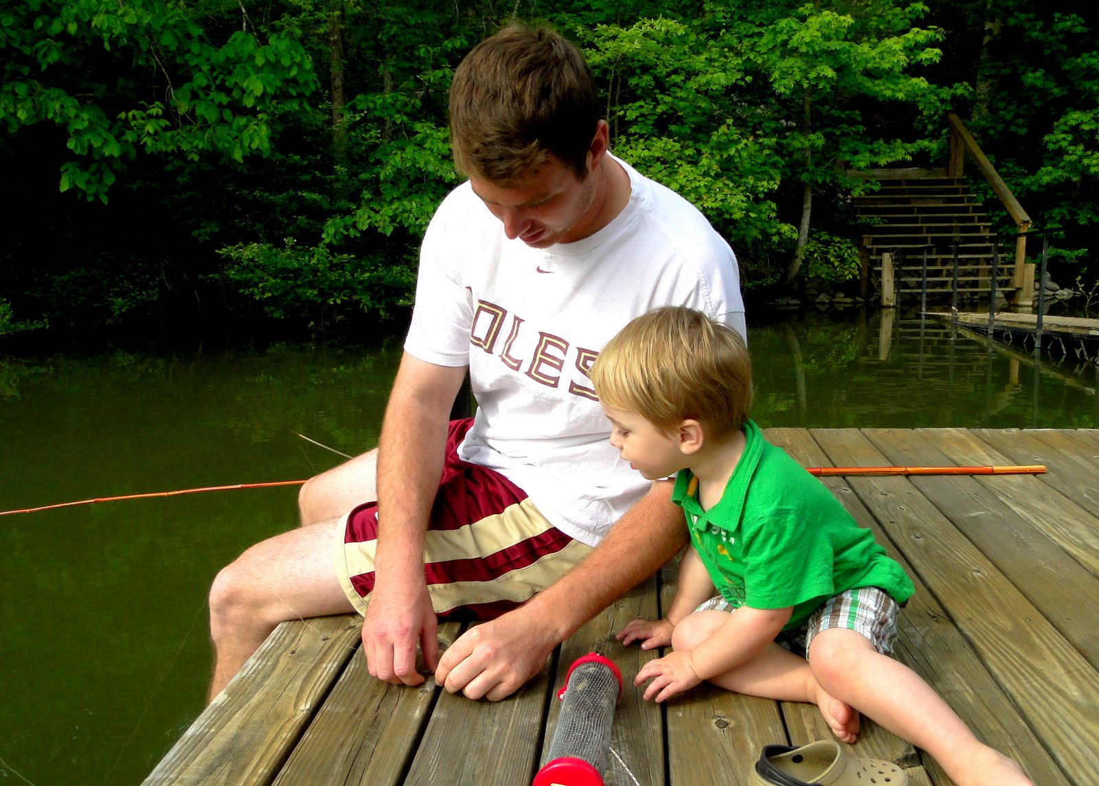 Kye's First Time Fishing