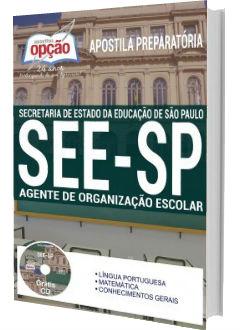 Apostila Concurso SEE-SP 2018 Agente de Organização Escolar