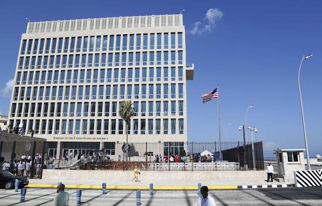 Cuba nega qualquer envolvimento nos incidentes que provocaram lesões cerebrais traumáticas leves e perdas de audição em alguns diplomatas norte-americanos.