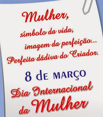 Resultado de imagem para mensagens do dia internacional da mulher
