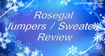 Rosegal Jumpers / Sweater  Review