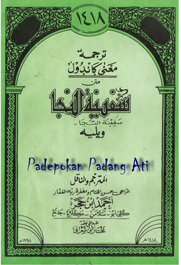 Terjemah Kitab Safinah Pdf