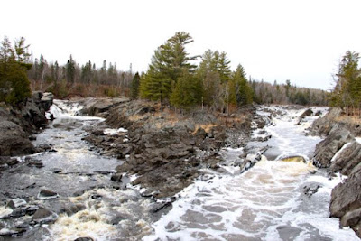 St. Louis River, downstream of (proposed) PolyMet mine