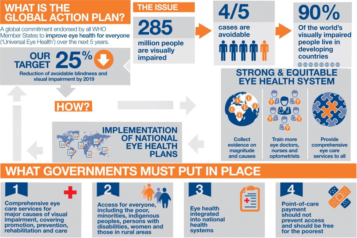 Global Eye Health Action Plan