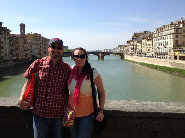 Honeymoon in Florence, Italy
