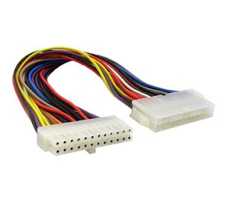 AT power connector (12 pin)