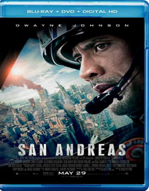 San Andreas [2015] [DVDR – BD] [NTSC] [Latino] [Remasterizado]