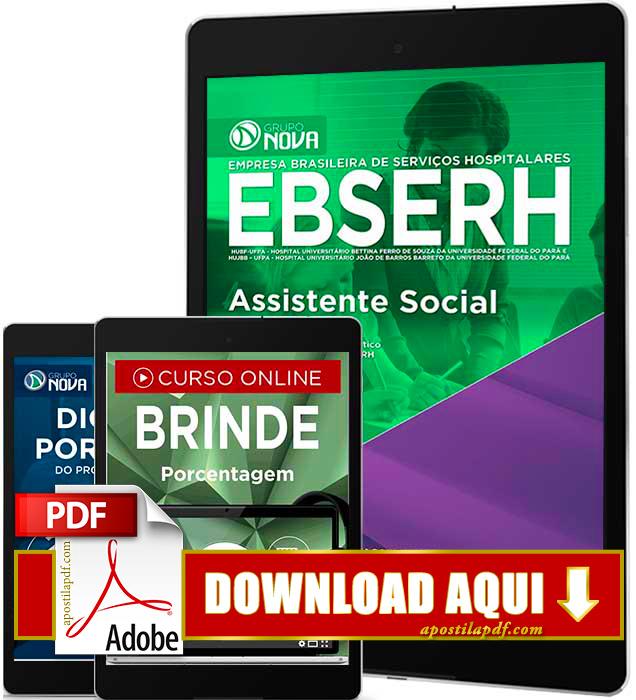 Apostila EBSERH PA 2016 Assistente Social PDF Download