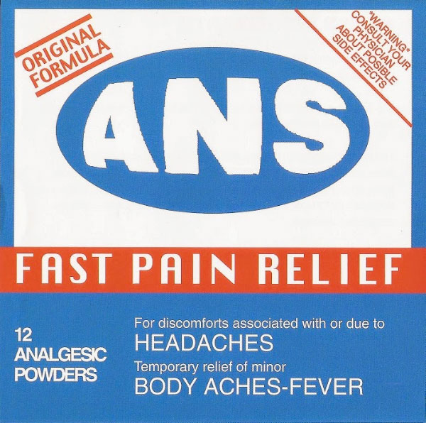 All Normal Society - Fast Pain Relief (1998)