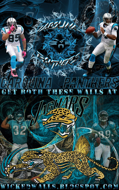 Wallpapers by wicked shadows carolina panthers and - Carolina panthers mobile wallpaper ...