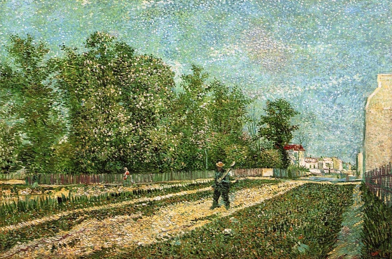 Van Gogh em Paris, França | Paisagens