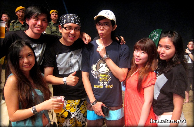 Carlsberg's Where's The Party at the seaside of Hard Rock Hotel Penang last year