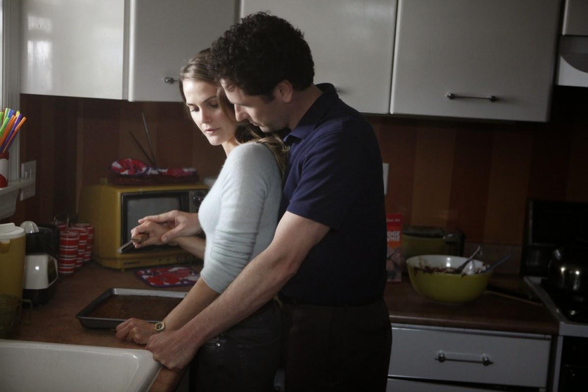 Keri Russell y Matthew Rhys Guerra Fria