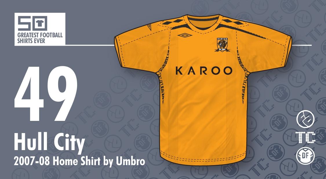 50GFSE   49 - Hull City 2007-08 Home Shirt by Umbro ~ The Football Attic d063a3a4f