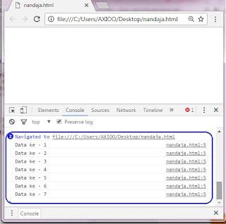 perintah dasar dalam javascript