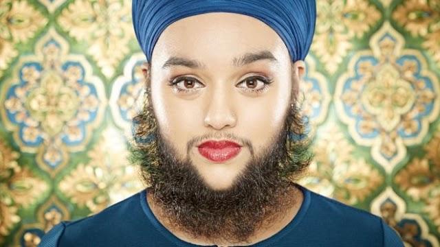 Nace copiosa barba a mujer con  síndrome del ovario poliquístico