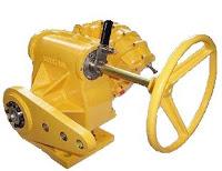 pneumatic damper drive