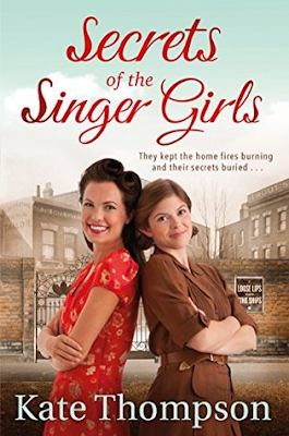 Secrets of the Singer Girls by Kate Thompson book cover
