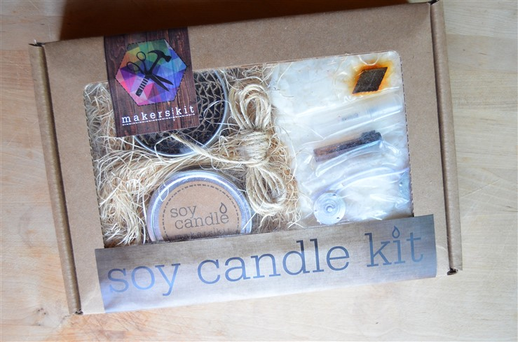 Sea Glass Soy Candle  Win FREE Makers Kit from A Nest for All Seasons